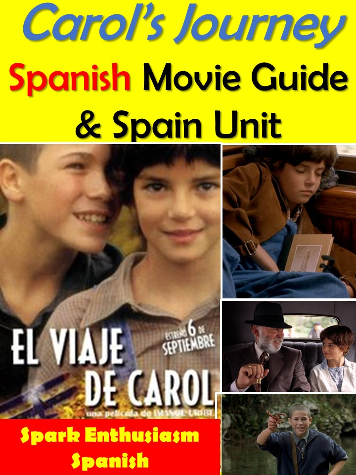 Spanish Movie Titles And Trailers Warm Up Game With Vocabulary Unit