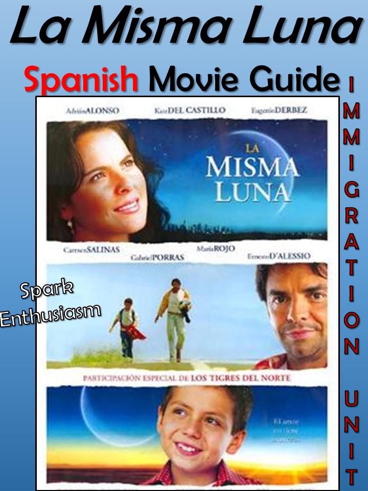 Spark Enthusiasm Teacher Resources – La Misma Luna Worksheet